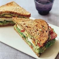 Go halvesies with your pup! This chicken BLT is healthy and delicious for both you!