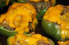 Skillet-Style Stuffed Bell Peppers : Razor Family Farms