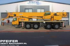 Used telescopic crane available at Pfeifer Heavy Machinery. Item Number PHM-Id 06605, model SA4100, year of construction 2011, kilometers 6072, hours carrier 619, hours superstructure 2093, loading (lifting) capacity (kg) 100000, boom length maximum (m) 49, fuel Diesel. More cranes at www.pfeifermachinery.com.