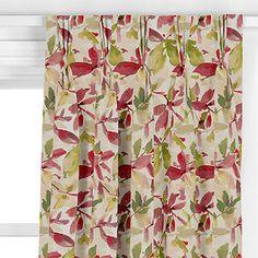John Lewis & Partners Alexa Made to Measure Curtains or Roman Blind, Pink Curtains Or Roman Blinds, Made To Measure Curtains, John Lewis, Pink, Living Room, Home Living Room, Drawing Room, Pink Hair, Lounge