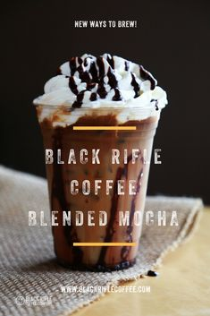 Blended mocha! Grab your favorite roasts and get to brewing!! BLACK RIFLE COFFEE    tag us in your pics to be featured!