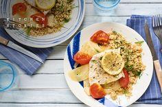 Seelachs auf Tomaten-Fenchel-Bett | Marley Spoon
