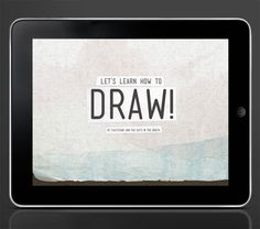 Let's Learn How To Draw! by Zara Gonzalez Hoang, via Behance