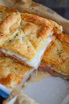Ham Recipes, Cooking Recipes, Healthy Recipes, Cheese Recipes, Recipes With Ham Deli Meat, Vegetarian Recipes, Ham Slices Recipes, Chicken Recipes, Snacks Recipes