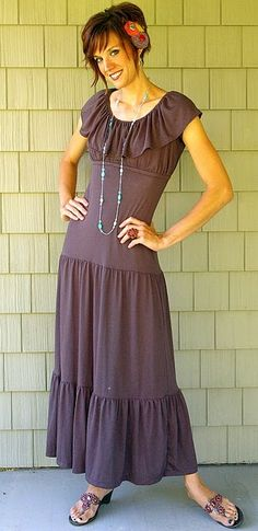 I like the idea of this dress, but it's too boho for me.