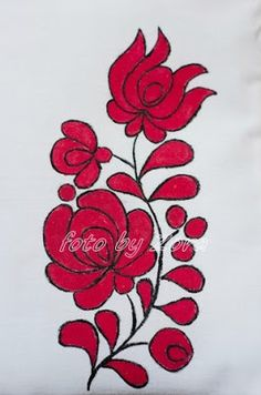 """Hungarian Embroidery Stitch Képtalálat a következőre: """"matyó minta"""" - Hungarian Embroidery, Folk Embroidery, Learn Embroidery, Embroidery For Beginners, Embroidery Techniques, Cross Stitch Embroidery, Embroidery Patterns, Latest Embroidery Designs, Quilting Designs"""