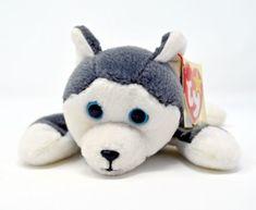 289e2da434b Nanook Retired 1996 Ty Beanie Babie 8in Husky Dog 3up Boys Girls 4104 for  sale online