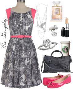Fashionable teacher.