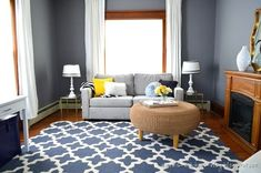 light area rug grey walls maple wood floors living room - Yahoo Image Search Results
