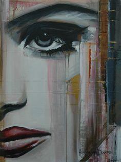 """Saatchi Online Artist: Hesther Van Doornum; Acrylic, 2011, Painting """"One Moment"""""""