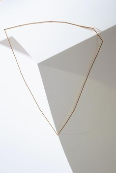 uncommon matters - hinged Linear necklace