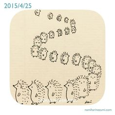 479    #illustration #hedgehog #イラスト #ハリネズミ #illustagram