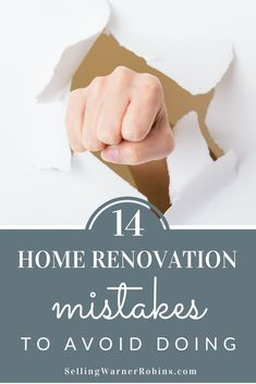 Home Remodeling Tips Top 14 Home Renovation Mistakes and Ways to Avoid Them Top 14, Home Improvement Loans, Home Improvement Projects, San Diego, Real Estate Articles, Basement Remodeling, Remodeling Ideas, Easy Projects, Home Renovation