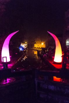Lamplighter Festival. Inflatables by http://www.spacecadets.com