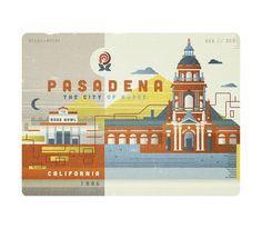 Illustration Design with Type {Pasadena, California} // Ricky Linn (The Everywhere Project)
