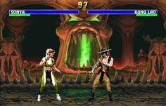 El Mortal kombat fue uno de mis videojuegos favoritos en la infancia. La estética en cada uno de los escenarios lograba realizar una interacción fantástica para el jugador. Cada personaje tiene una historia y un motivo para entrar dentro del torneo. Creado en 1992 por Ed Boon y John Tobias, fue un juego muy discutido por la violencia que tiene, pero de esta forma rompió con la idea de que los videojuegos eran solo para niños y permitió que adolescentes y adultos entraran en este nuevo mundo.