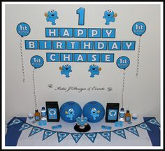 cookie monster party ideas decorations on pinterest cookie monster