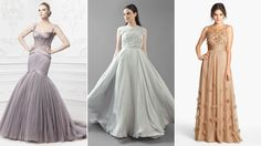The bride wore mauve? Check out newest wedding gown color trends
