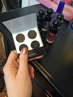 Click here for a tutorial on the Ruffian half moon manicure!