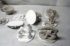 The Clay Teacher:  instructions on how to dry, paint and seal air dried clay works.