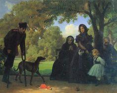W saskim ogrodzie Artur Grottger