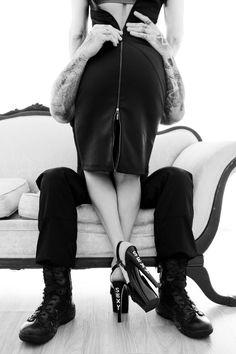 Undress me slowly. Raunchy