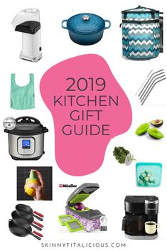 2019 Kitchen Gift Guide for the health conscious person or foodie. 2019 Kitchen Gift Guide for the health conscious person or foodie. Gluten Free Lasagna, Gluten Free Meal Plan, Caribbean Chicken, Healthy Christmas Recipes, Blueberry Cookies, Healthy Low Calorie Meals, Lara Bars, No Noodle Lasagna, Food Recipes