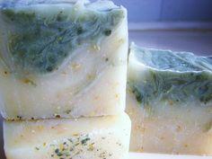 SOAP- Organic Rosemary Lime Soap, Vegan Soap, Cold Processed Soap, Handmade Soap, Gift Ready Soap. $5,50, via Etsy.