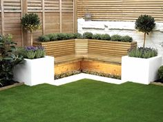 We recently completed a clients garden in Broomwood Road Battersea. Our landscapers have been landscaping and gardening in Battersea for many years working in both garden design and construction. Back Garden Design, Backyard Garden Design, Small Backyard Landscaping, Garden Landscape Design, Small Urban Garden Design, Landscaping Ideas, Built In Garden Seating, Corner Garden Seating, Ideas Terraza