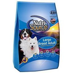 Nutri Source Large Breed - Adult * Awesome product. Click the image (This is an affiliate link and I receive a commission for the sales) : Dog food