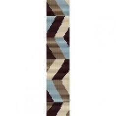 CHEVRON ZIG ZAG  - LOOM beading pattern for cuff bracelet SALE