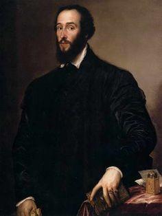Тициан. Антуан Перрено Гранвелла. 1548
