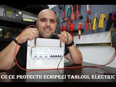 #Electricianul - Cu ce protectii echipezi tabloul electric! - YouTube Automata, Electric, Youtube, Youtubers, Youtube Movies