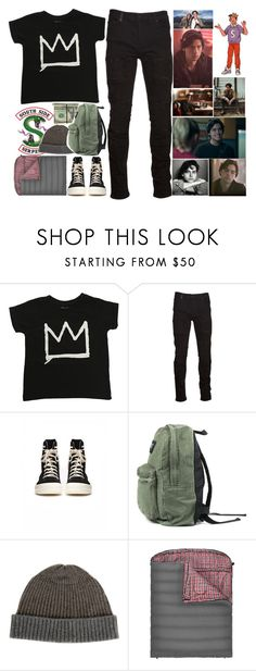 """JUGHEAD JONES"" by isabellarose958 ❤ liked on Polyvore featuring ElevenParis, Marcelo Burlon, DRKSHDW, Raffi, GET LOST, Religion Clothing, men's fashion and menswear"
