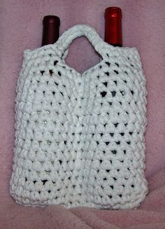 Free Crochet Pattern For Wine Bag : 1000+ images about craft fair ideas on Pinterest Crochet ...