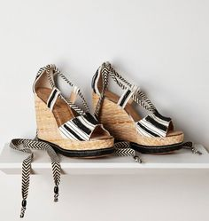 Monday Wedgie: Anthropologie Trey Espadrilles
