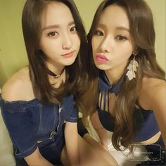 Bestie´s Haeryung y Uji