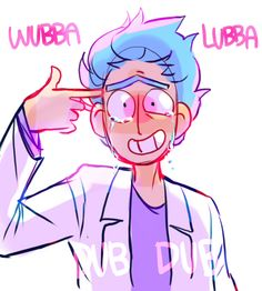 """I always wanted broken Rick, but I neVER WISHED FOR """"THIS"""" AHHHHHHHH!!"""