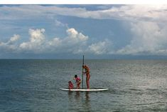 Tips for Stand Up Paddleboarding (SUP) with kids.