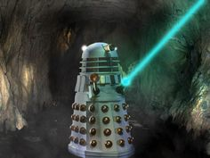 A Lone Dalek by TonyStarkHarrison Classic Doctor Who, 13th Doctor, Creature Concept Art, Classic Sci Fi, Dalek, Dr Who, How To Look Pretty, Doctors, Picture Video