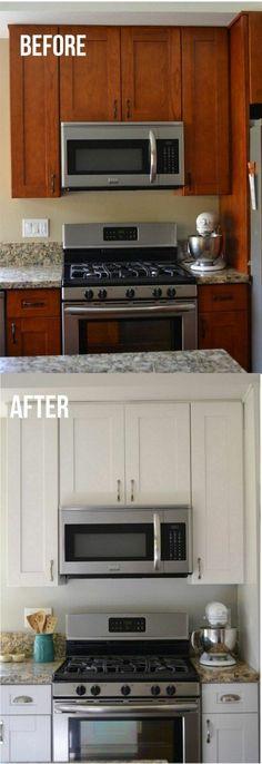Küchenschränke Neu Streichen In Weiß