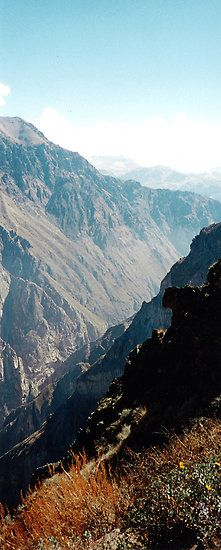 Colca Canyon, Arequipa, Peru. Overseas adventure travel - sustainable travel - responsible travel - http://www.adventuretravelshop.co.uk/
