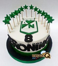 torta atletico nacional.mr.ponQ 28th Birthday, Nachos, Desserts, Food, Tailgate Desserts, Deserts, Essen, Postres, Meals