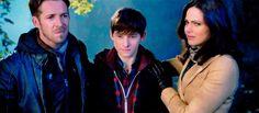 Robin, Henry and Regina