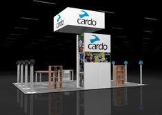 CARD00A – 20×30 Trade Show Display Rental
