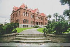 Old Orange County Courthouse Wedding Photography. Santa Ana Wedding Photography  love it! @Kellie Dyne Dyne Boda