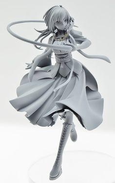 Fate/Grand Order - Matou Sakura - (Easy Eight) Clay Figures, Anime Figures, 3d Model Character, Character Design, Sculpture Clay, Sculptures, Matou, Anime Toys, 3d Girl