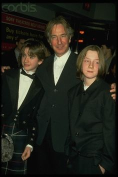 "1997 - Alan Rickman at a premiere of ""The Winter Guest."""