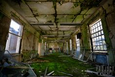Lots of decay at Mid Wales Hospital Talgarth