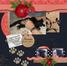Spring Is Around the Corner 12x12 Layout Templates